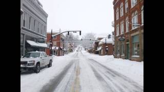 Lewisburg (WV) United States  City new picture : Lewisburg, WV Snow Feb 13, 2014