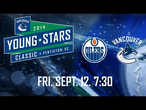 Canucks - Watch the broadcast from the game between the Oilers and Canucks rookies in Penticton at the Young Stars Tournament. Vancouver drop a 4-3 overtime decision to Edmonton in the opening game for.