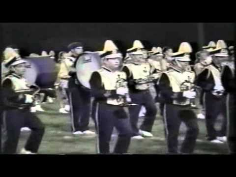 1998 Jackson High School Marching Band Pregame