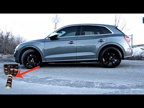 SQ5 FIRST MOD AUTO DIP DIY BLACK GLOSS RIMS