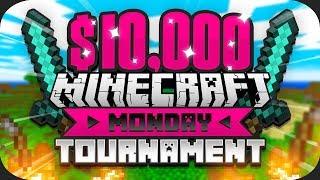$10,000 Minecraft Monday HUNGER GAMES Tournament (Week 2)