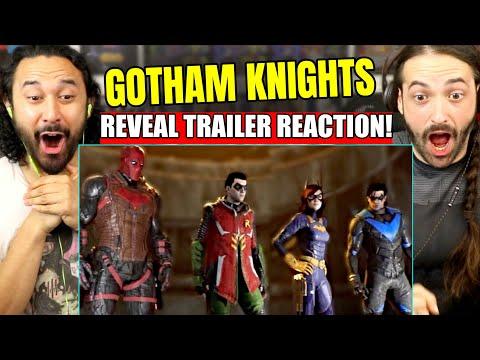GOTHAM KNIGHTS - World Premiere REVEAL TRAILER REACTION! (DC Fandome)