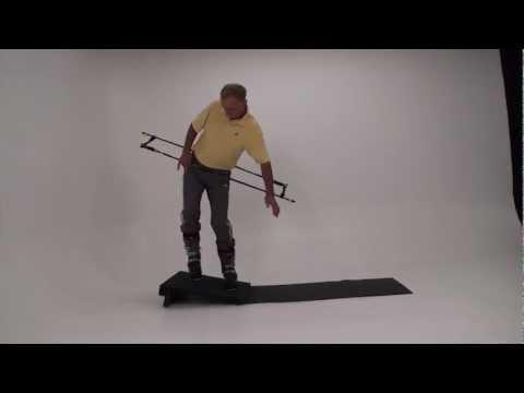 "Harald Harb's ""How to Ski"", Ski Systems Slantboard Dryland Training, 07 Counterbalancing"