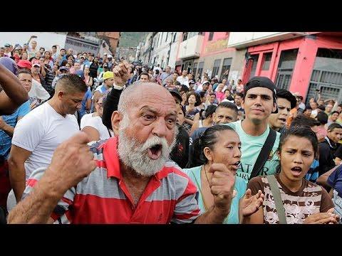 Βενεζουέλα: Λεηλασίες σούπερ μάρκετ λόγω ελλείψεων σε τρόφιμα