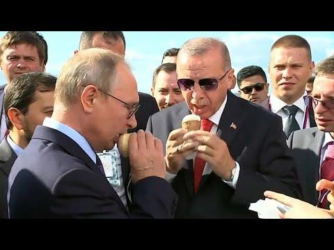 Russland/Türkei: Putin und Erdogan beraten in Moskau  ...