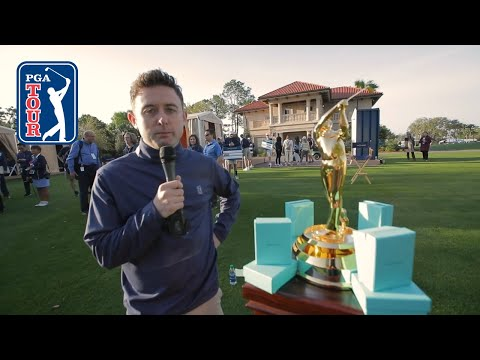 Conor Moore impersonates PGA TOUR players at THE PLAYERS