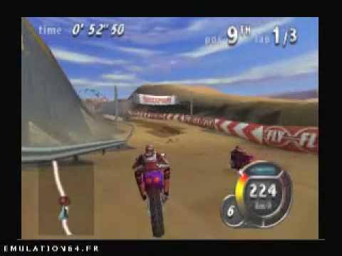 top gear hyper bike nintendo 64