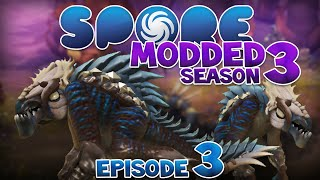 SPORE: Modded - BATMAN!! | Ep3 Season3 - Spore Creature Stage