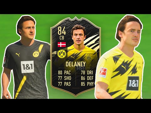 WHAT A POSITION CHANGE! 👀 IF Delaney Review | 84 CB Thomas Delaney Player Review | FIFA 21