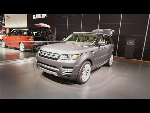 range - Simon Turner, product manager of Land Rover Range Rover, talks to the Wall Street Journal's Lee Hawkins at the 2013 New York International Auto Show about th...