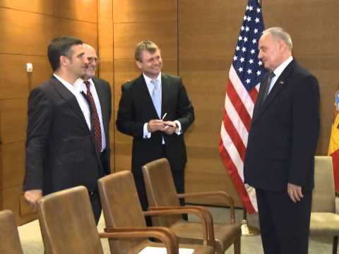 Moldovan, American official broach European prospect, bilateral agenda, joint projects
