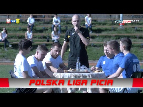 Nowy sport! Polska Liga Picia… mecz o wszystko, Kacovia Raków vs alko gdynia!