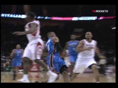 Jared Jeffries blocks Russell Westbrook from behind