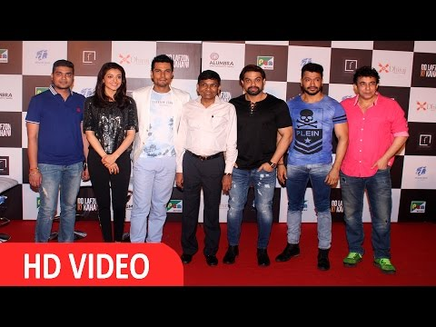 Randeep Hooda & Kajal Aggarwal At trailer Launch Of Film 'Do Lafzon ki Kahani'- UNCUT