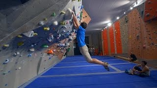 Fredrik Is Breezing Through The New Bouldering Problems! (vlogish) by Eric Karlsson Bouldering