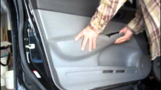 9. How to remove Door Panel Honda Civic  2006 2007 2008 2009 2010 2011