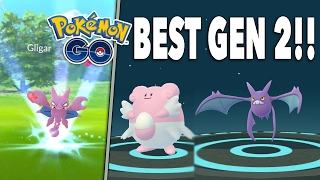 BEST GEN 2 POKEMON & GEN 2 EVOLUTIONS! Pokemon GO Blissey & Crobat OP!, pokemon go, pokemon go ios, pokemon go apk