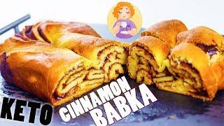 Keto Cinnamon Babka Recipe - Easy Babka Recipe (sweet keto bread) Gluten Free Sugar Free
