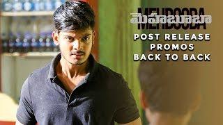 Video Mehbooba | Post Release Promos Back to Back | Puri Jagannadh | Akash Puri | Neha Shetty MP3, 3GP, MP4, WEBM, AVI, FLV Agustus 2018