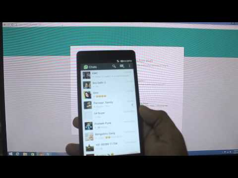 how to whatsapp on laptop