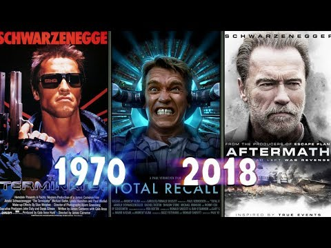 Evolution Of Arnold Schwarzenegger's Movie Posters | 1970 - 2018