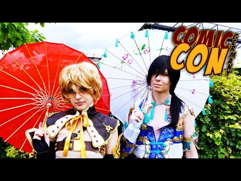 Comic Con Germany 2016: Stuttgart :: Cosplay Music Video