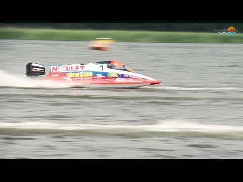 Mistrzostwa świata wodnej Formuły 1. Łodzie nie mają hamulców