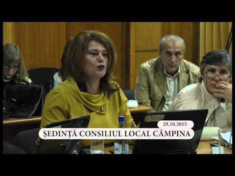 Sedinta ordinara a Consiliului Local Campina din luna octombrie 2015 – partea a III-a