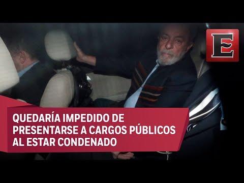 Juez ordena prisión para Lula da Silva por corrupción
