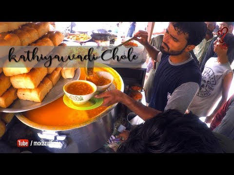 Kathiyawadi Chole | Street Food Of Karachi Pakistan 🇵🇰