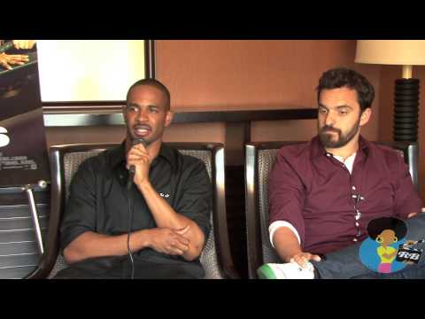 Damon Wayans Jr. and Jake Johnson - Let's Be Cops on Reelblack TV
