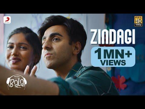Zindagi - Bala | Ayushmann Khurrana | Bhumi Pednekar | Sachin - Jigar | Papon | Bhargav Purohit