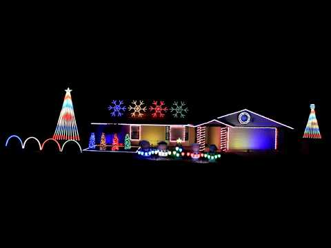 Video Thunder by Imagine Dragons 2017 Christmas Light Show Display download in MP3, 3GP, MP4, WEBM, AVI, FLV January 2017