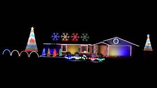 Video Thunder by Imagine Dragons 2017 Christmas Light Show Display MP3, 3GP, MP4, WEBM, AVI, FLV Januari 2018