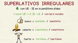 SUBTÍTULOS DISPONIBLES EN ESPAÑOL **** Aprender español: Superlativos irregulares y especiales (nivel avanzado).