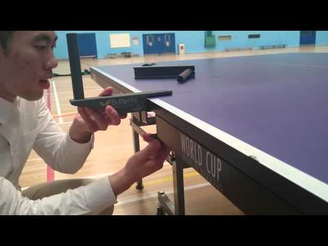 How to set up table/net