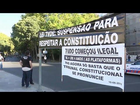 Πορτογαλία: «Χειρόφρενο σήκωσαν» οι οδηγοί ταξί