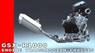 5. 2017 Suzuki GSX R1000 & R Engine, Transmission, Chassis Design
