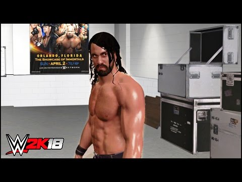 WWE 2K18 ROAD TO WRESTLEMANIA - The Rise Of Seth Rollins Ep.01 | Concept | PS4/XB1