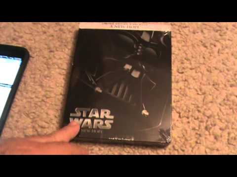 Star Wars Episode IV: A New Hope Blu-Ray Steelbook Unboxing
