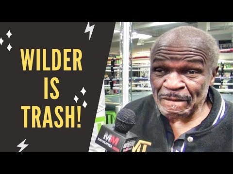 "Floyd Mayweather Sr.: ""Tyson Fury is nothing special, Deontay Wilder is trash!"""
