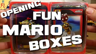Opening 2 Fun, Random Mario Boxes from Target! Card Packs, Figures, and Holo Cards! by Flammable Lizard