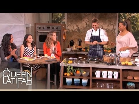 Chef Curtis Stone and Queen Latifah Judge LA Food Blogger Dishes | The Queen Latifah Show