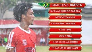 Kinoplex - Matheus Carioca - Meia / Atacante (Striker-Forward) 95 - HD #OLHONOLANCE