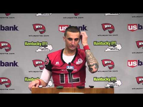 Brandon Doughty Interview 8/31/2013 video.
