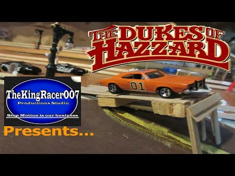 The Dukes Of Hazzard 2005 - car chase (stop motion)