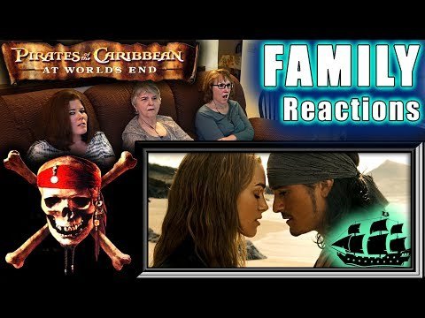 Pirates Of The Caribbean 3 | At World's End | FAMILY Reactions | Fair Use