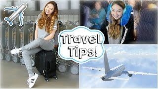 Airplane/Travel Tips + Easy Makeup & Outfit! | Meredith Foster full download video download mp3 download music download