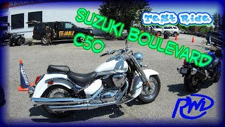 5. Test Ride: Suzuki Boulevard C50