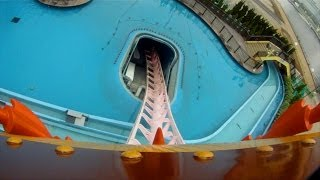 Yokohama Japan  city photos gallery : Diving Coaster Vanish Roller Coaster POV Cosmoworld Yokohama Japan 1080p HD